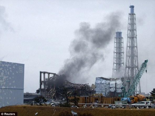 Японы зүүн хойд хэсэгт байх Фукушима Даийчийн АЦС-аас ута аолгойдож байгаа нь.