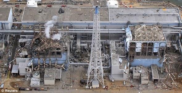 Сүйрэл: Фукушима Даийчийн АЦС-ыг агаараас авсан зураг, 2011 оны 3-р сарын 20.