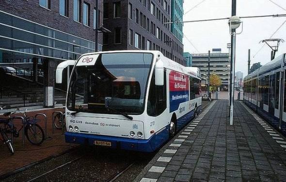 2025 он гэхэд Амстердам хот нийтийн тээврийн бүх автобус цахилгаанаар ажиллах гэнэ. Эх сурвалж: http://www.treehugger.com/public-transportation/amsterdam-buses-all-electric-2025.html