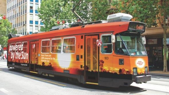 Австралийн Мельбурн хотод нарны эрчим хучээр ажилладаг трамвайны сулжээ байгуулна.  Эх сурвалж: http://cleantechnica.com/2015/05/22/solar-powered-tram-network-unveiled-melbourne-worlds-largest/