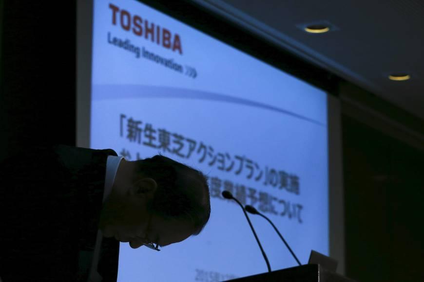 2006 он Лондон. Тошиба корпораци Вестингхаузыг худалдаж авч буй ёслолтын үйл ажиллагааны үеэр. Ройтерс агентлагын зураг